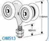 OM51300 Industro Wheel Assembly