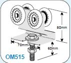 OM51500 Industro Wheel Assembly